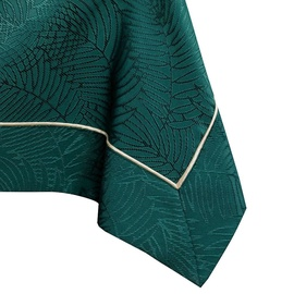 AmeliaHome Gaia Tablecloth PBG Bottle Green 140x280cm