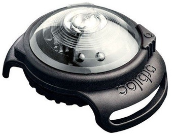 Orbiloc Dog Dual Safety Light Black/White