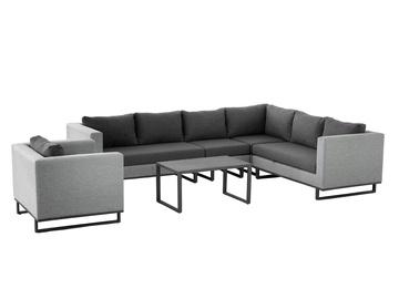 Комплект уличной мебели Masterjero UNT-C-330, серый, 1-8 места