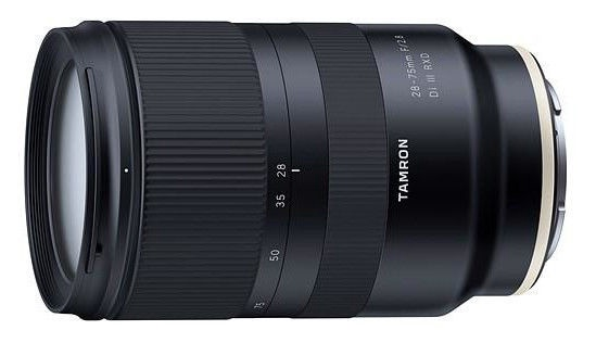 Objektiiv Tamron 28-75mm F/2.8 Di III RDX for Sony, 550 g