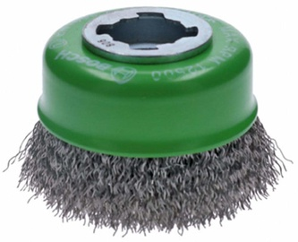 Bosch Crimped Cup Brush X-LOCK 75mm