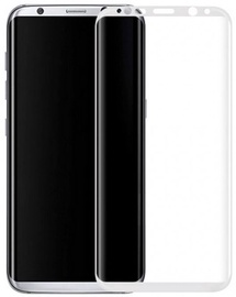BlueStar Tempered Glass Extra Shock Screen Protector For Samsung Galaxy S8 Plus Full Face White
