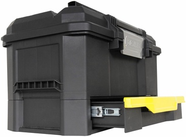 """Stanley 19"""" One Touch Tool Box wtih Drawer"""