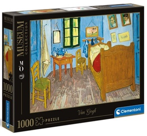 Clementoni Puzzle Museum Collection Bedroom In Arles 1000pcs 39616