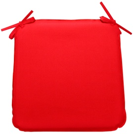 Home4you Chair Cover Ohio 39x39x2.5cm Red