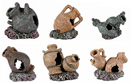 Trixie Antique Pots & Amphorae 6pcs