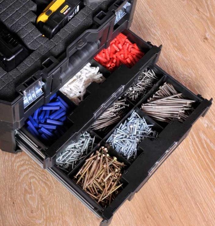 Stanley TSTAK FatMax Tool Box with 2 Drawers