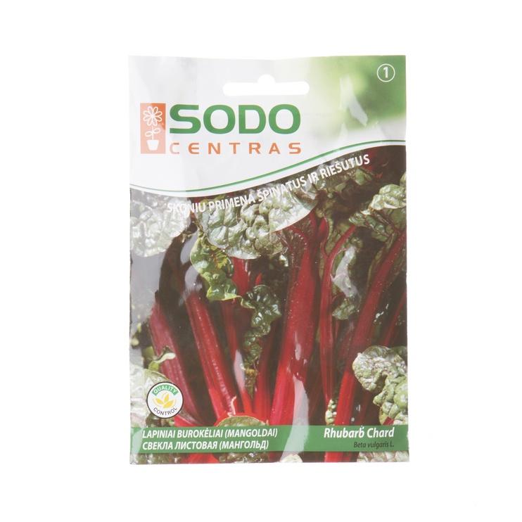 Biešu sēklas Sodo Centras Mongold Rhubarb CH, 2 g