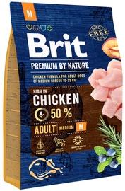 Brit Premium by Nature Adult Medium Breed Chicken 3kg