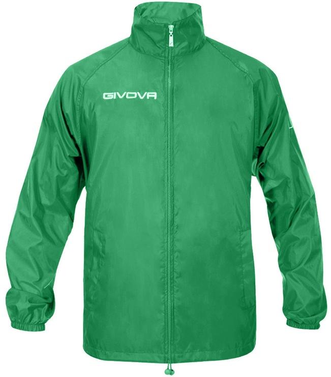 Givova Basico Rain Jacket Green 2XL