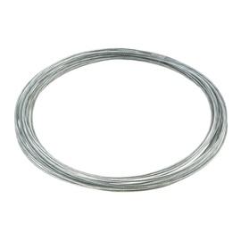 Tross plastikuga 1,5/2,5 mm 6x7+FC tsingitud 10 m