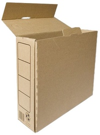 SMLT Archive Box A4 245x105x330mm Brown