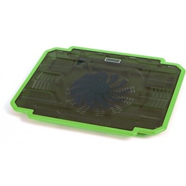 "Omega Ice Box Laptop Cooler 10""-17"" Green"