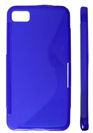 KLT Back Case S-Line Nokia 500 Silicone/Plastic Blue