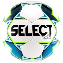 Select Futsal Super FIFA Ball 14296 White/Blue Size 4