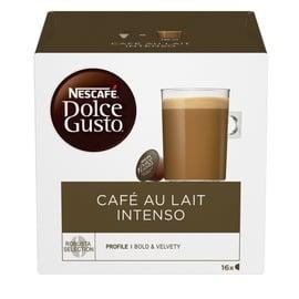 Kavos kapsulės NESCAFÉ®Dolce Gusto® Café Au Lait Intenso 16 vnt., 160 g