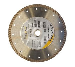 Deimantinis turbinis pjovimo diskas Cedima EC-42.2 TURBO 230x22.23x2.6mm