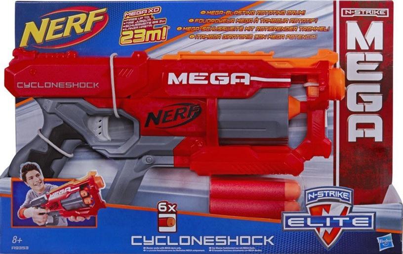 Hasbro Nerf N-Strike Elite Mega Cycloneshock Blaster A9353