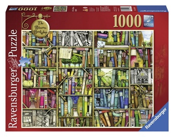 Puzle Ravensburger The Bizzarre Bookshoop 19226, 1000 gab.