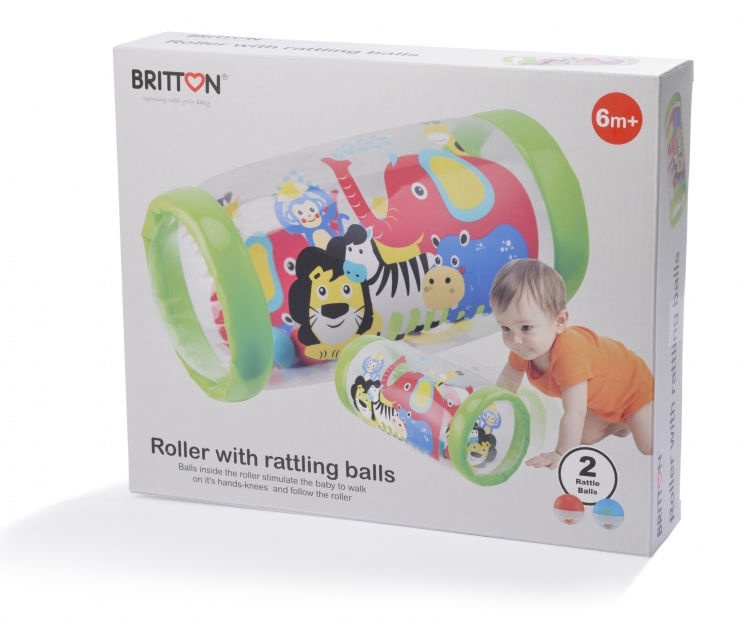 Britton Roller With Rattling Balls