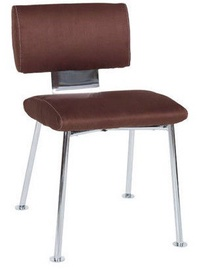Black Red White Ringo Chair Brown