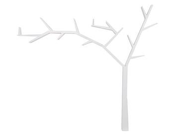 Signal Meble Poprad Tree Shaped Shelf Left Side White