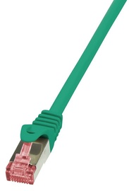 LogiLink CAT 6a S/FTP Cable Green 10m