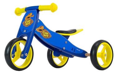 Vaikiškas dviratis Milly Mally Jake Ride On Blue Cowboy