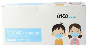 Sejas maska Inca Farna, gaiši zila