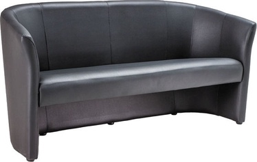Sofa Signal Meble TM-3 Black, 160 x 60 x 76 cm