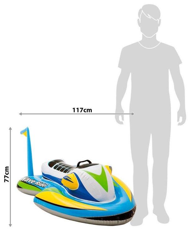 Täispuhutav parv Intex 57520NP, sinine/valge/kollane/roheline/mitmevärviline, 1170x770 mm
