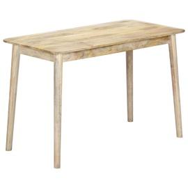 Söögilaud VLX Solid Mango Wood, pruun, 1150 mm x 600 mm x 760 mm