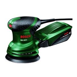 Ekscentrinis šlifuoklis Bosch Green PEX, 220 W
