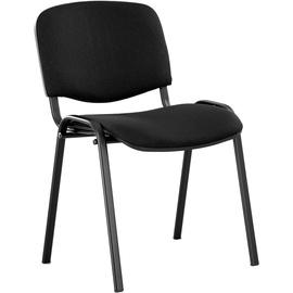 Lankytojų kėdė ISO, juoda