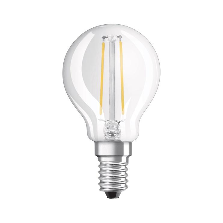 LED lempa Osram P45, 1.6W, E14, 2700K, 136lm