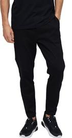 Audimas Cotton Tapered Fit Sweatpants Black 176/L
