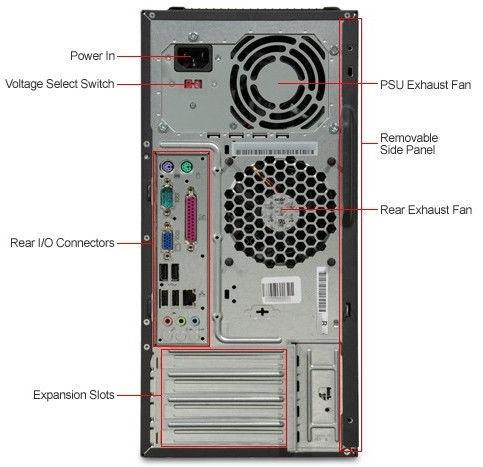 Lenovo ThinkCentre M58e MT RM6780W7 Renew