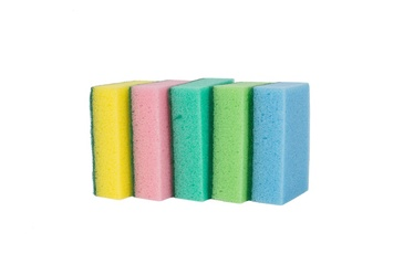 Okko Sponge Set 9.3x6.3cm 5pcs Multicolor