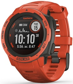 Garmin Instinct Solar Edition Flame Red
