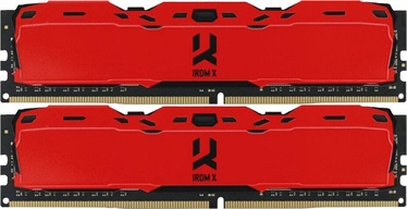 GoodRam IRDM X Red 8GB 3000MHz CL16 DDR4 KIT OF 2