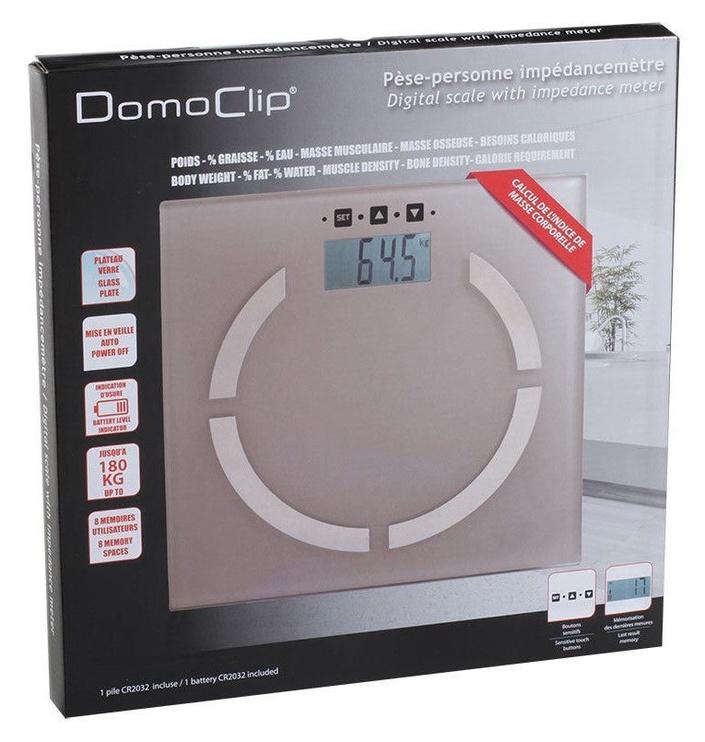 Svarstyklės DomoClip DOM254T