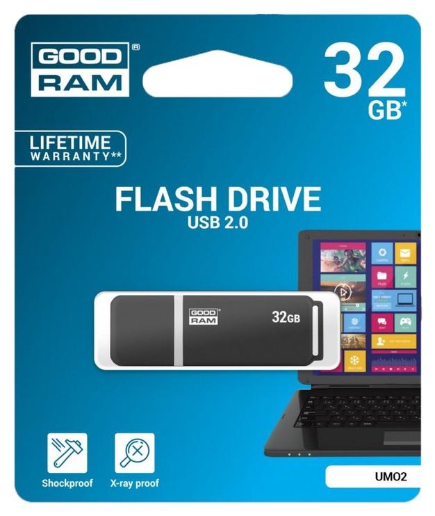 GoodRam UMO2 32GB USB 2.0 Grafit