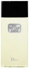 Christian Dior Eau Sauvage 200ml Shower Gel
