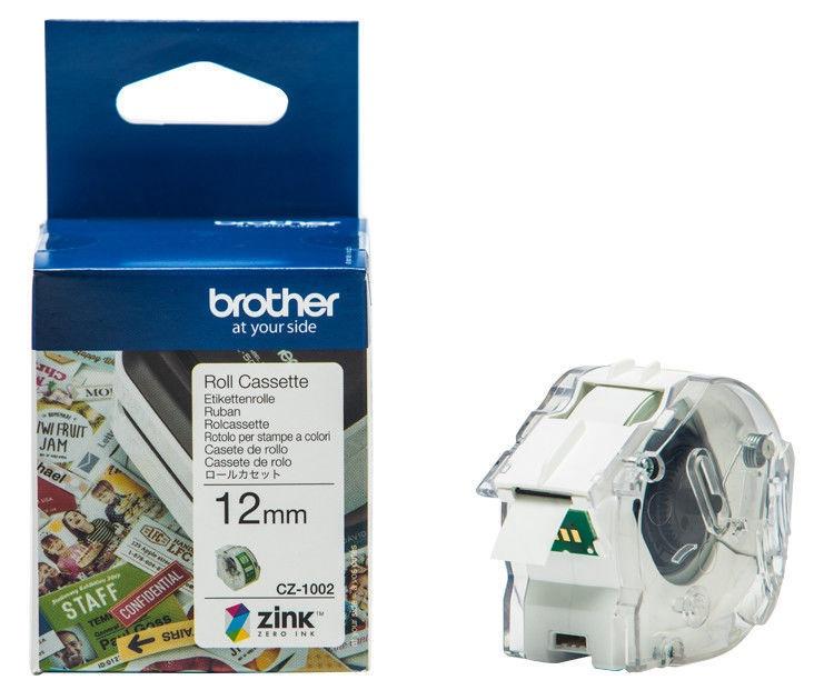 Этикет-лента для принтеров Brother CZ1002, 500 см