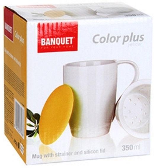 Banquet Color Plus Mug Yellow 350ml