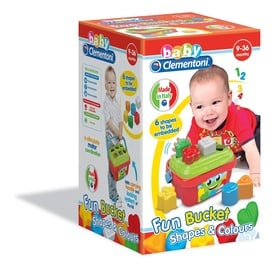 Lavinamasis žaislas Clementoni, figūrėlės ir kibirėlis, plastikinis