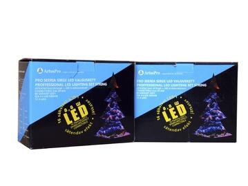Ühendatav vanik 80 LED 12M vilkuv, soe valge / valge
