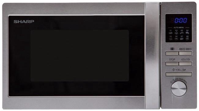 Mikroviļņu krāsns Sharp R-222STW 20l, 800W