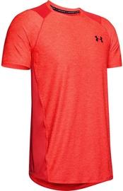 Under Armour Mens MK-1 Short Sleeve Shirt 1323415-646 Red M
