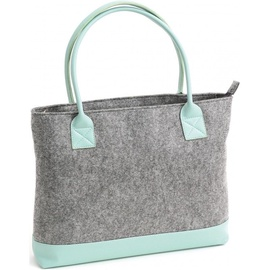 "Platinet Felt Collection Notebook Bag 15.6"" Mint"
